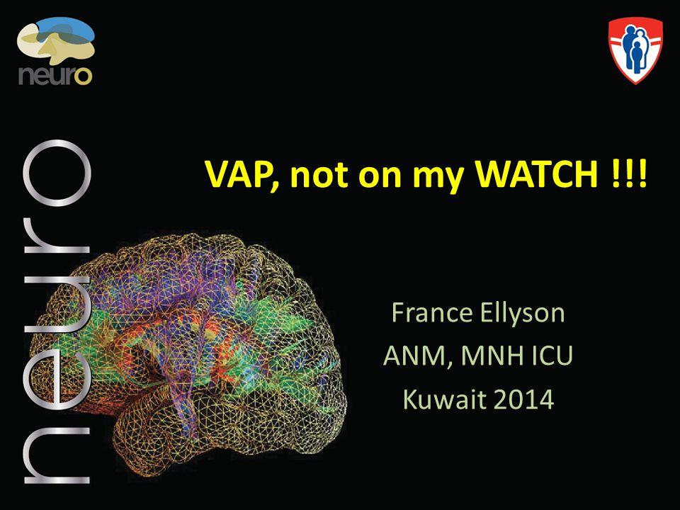 France Ellyson ANM, MNH ICU Kuwait 2014