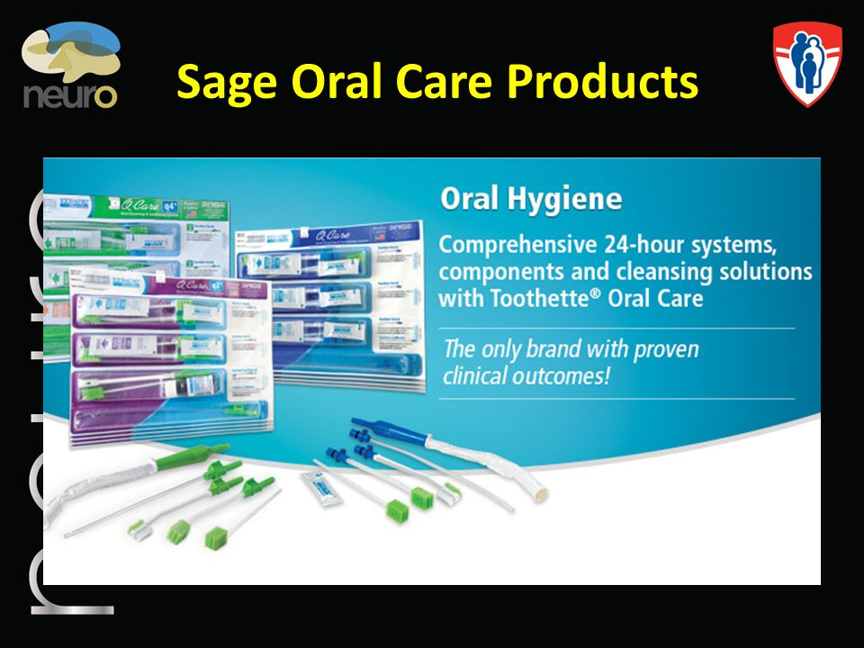 Sage Oral Care Products