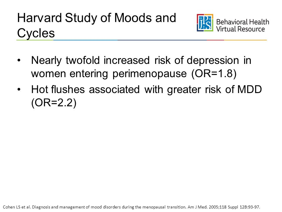 Harvard Study of Moods and Cycles