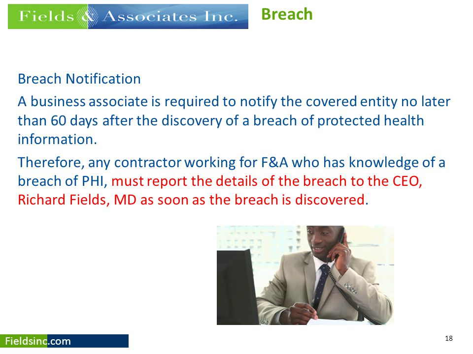 Breach Breach Notification