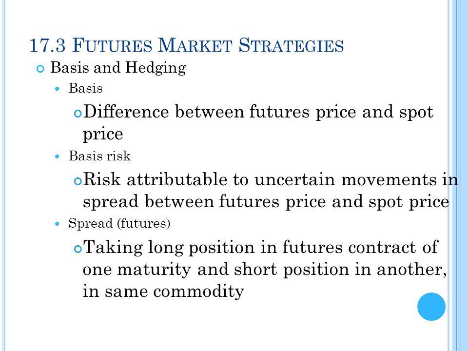 17.3 Futures Market Strategies