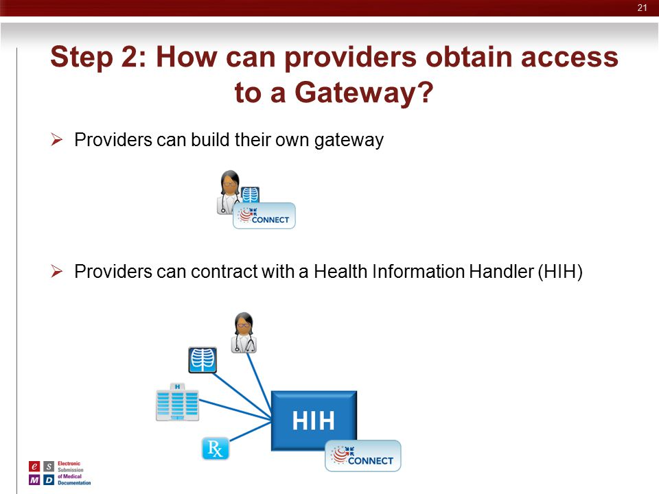 Step 2: How can providers obtain access