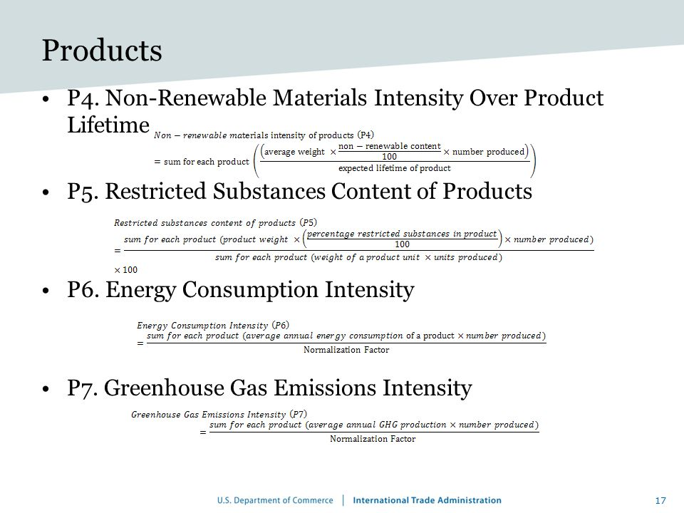 Products P4. Non-Renewable Materials Intensity Over Product Lifetime
