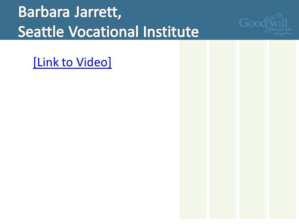 Barbara Jarrett, Seattle Vocational Institute