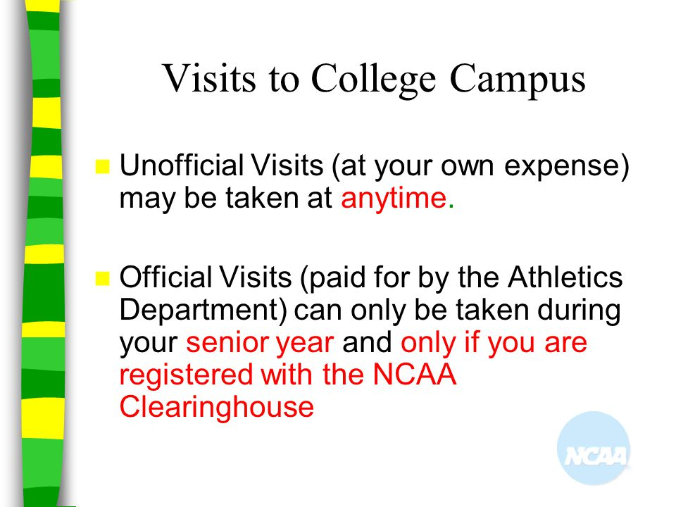 Visits to College Campus