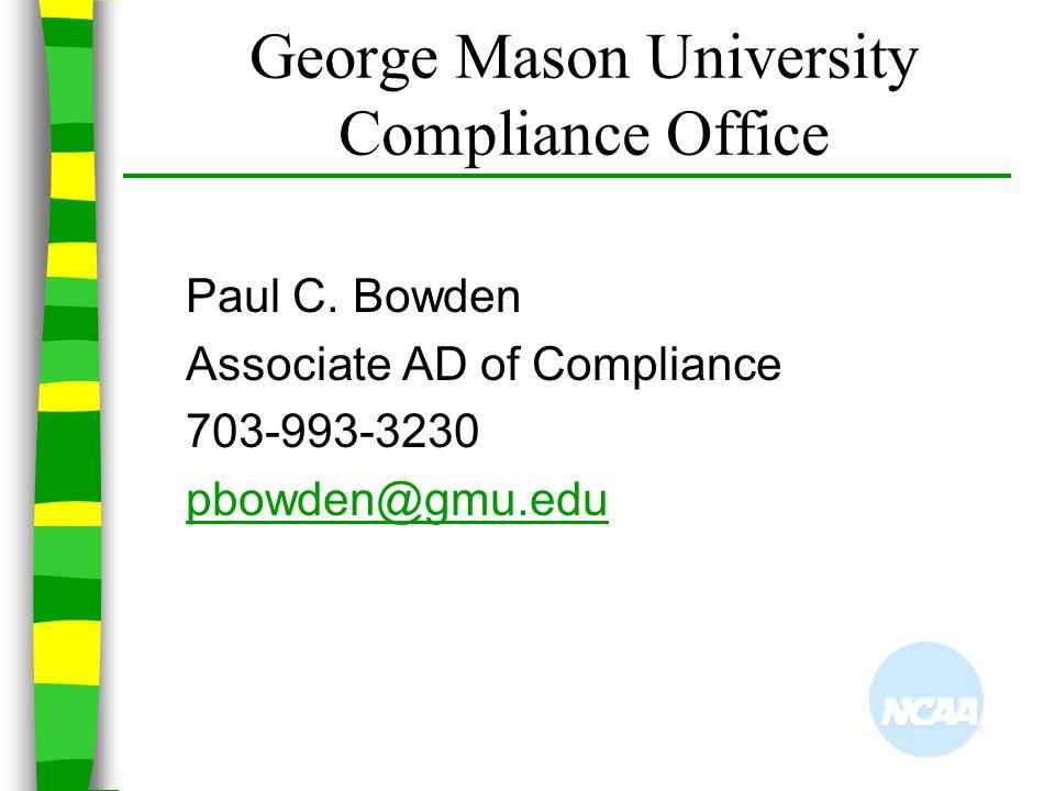 George Mason University Compliance Office