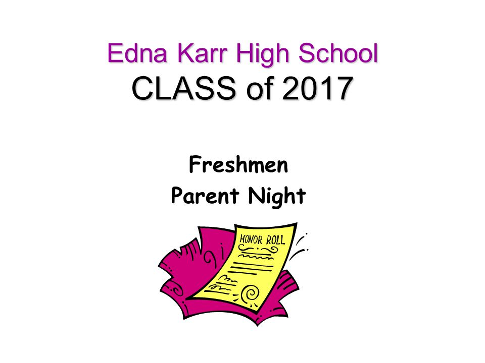 Edna Karr High School CLASS of 2017