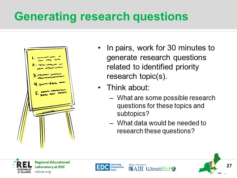 Generating research questions