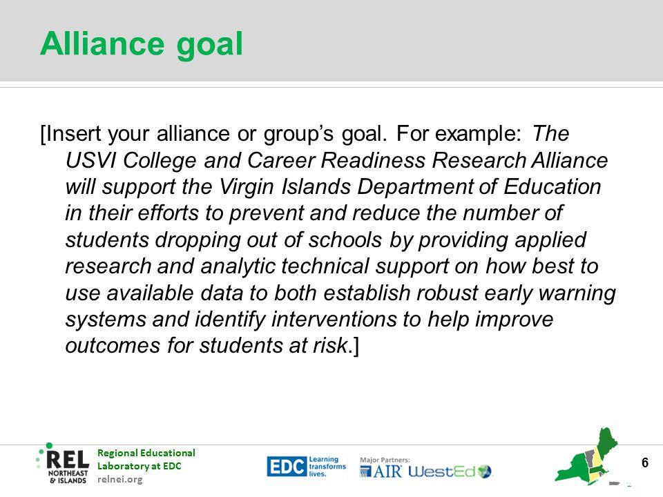 Alliance goal
