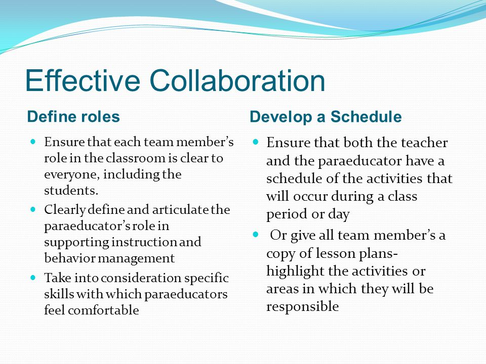 Collaborative Teaching Define ~ Effective collaboration ppt download