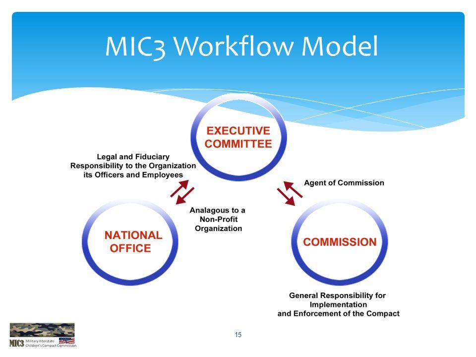 MIC3 Workflow Model