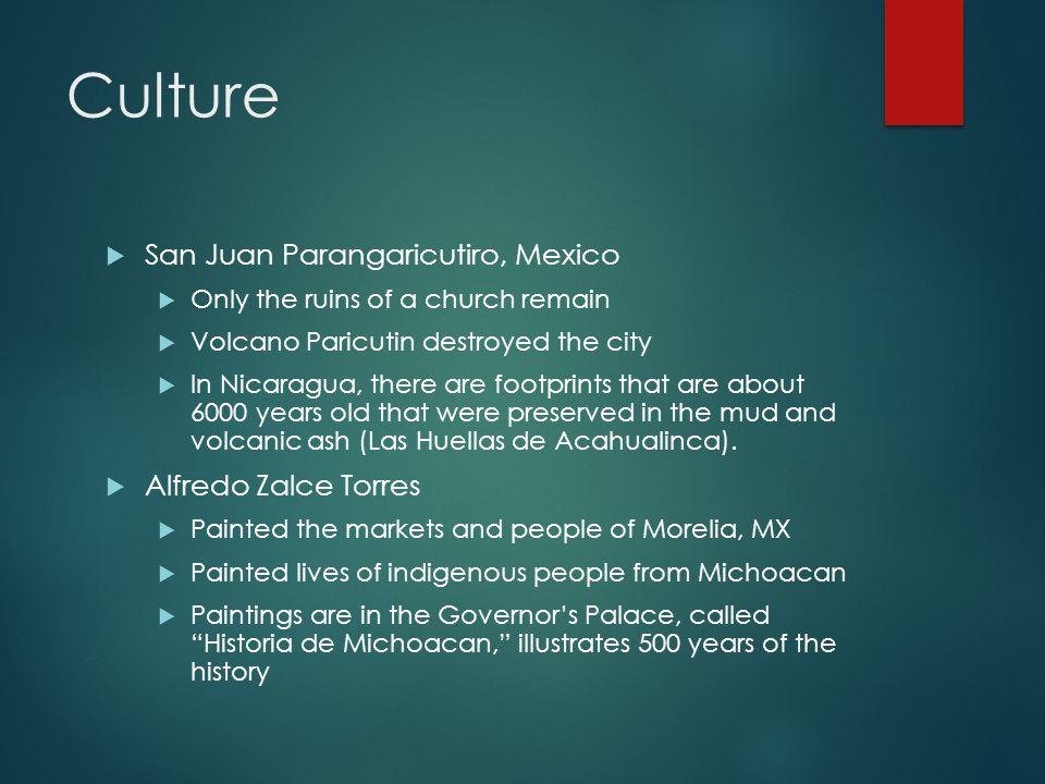 Culture San Juan Parangaricutiro, Mexico Alfredo Zalce Torres