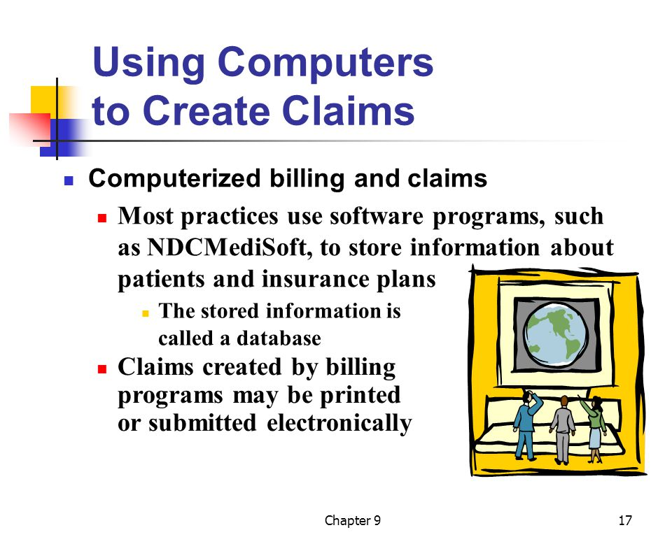 Using Computers to Create Claims
