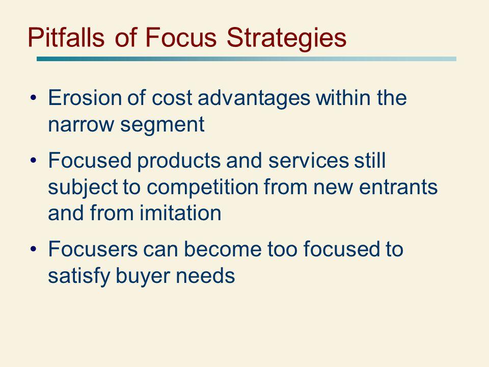 Pitfalls of Focus Strategies