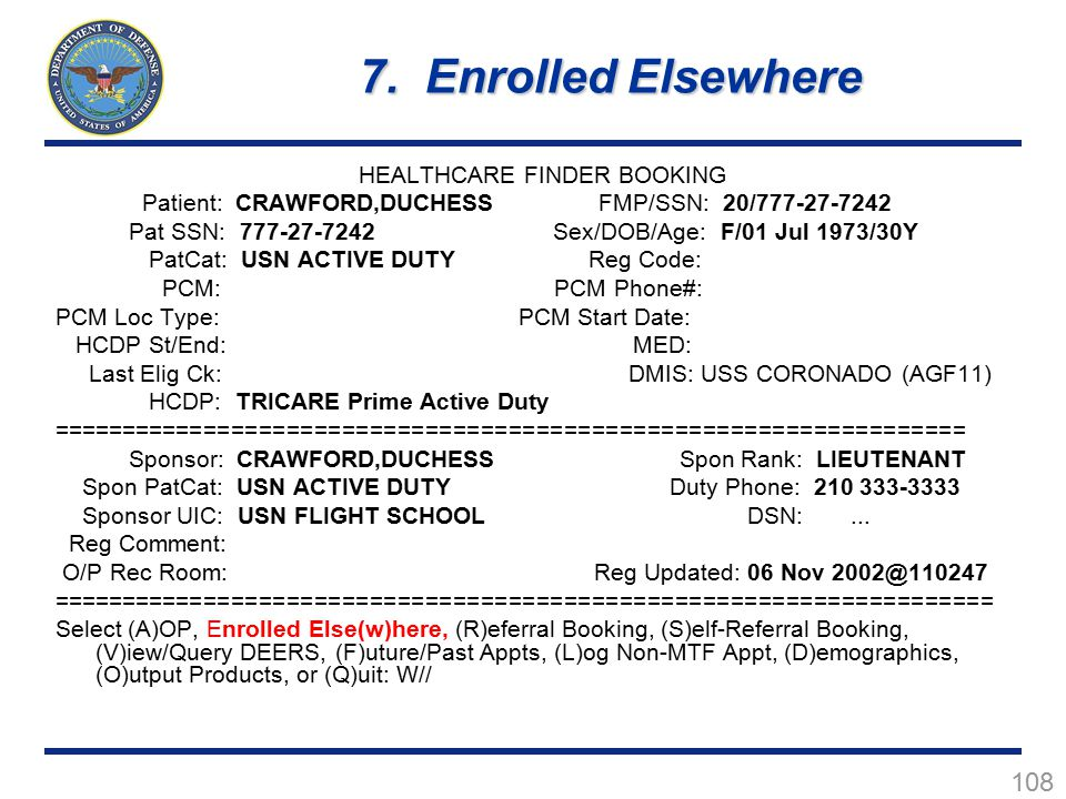 HEALTHCARE FINDER BOOKING