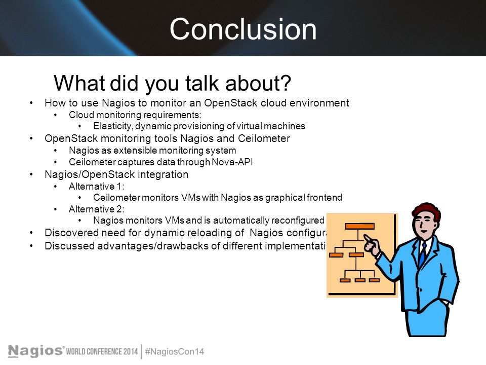 Conclusion What did you talk about