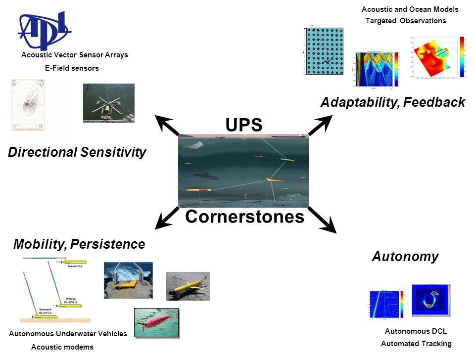 UPS Cornerstones Adaptability, Feedback Directional Sensitivity