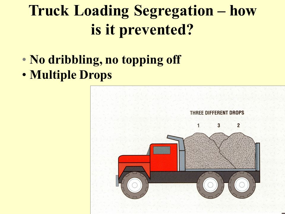 Truck Loading Segregation – how is it prevented