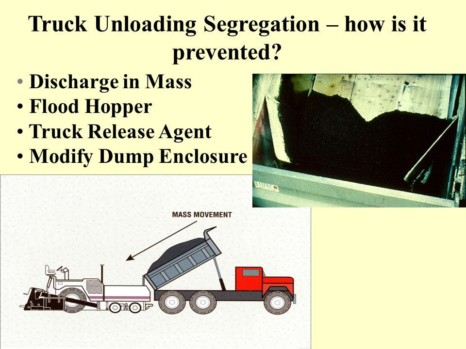 Truck Unloading Segregation – how is it prevented