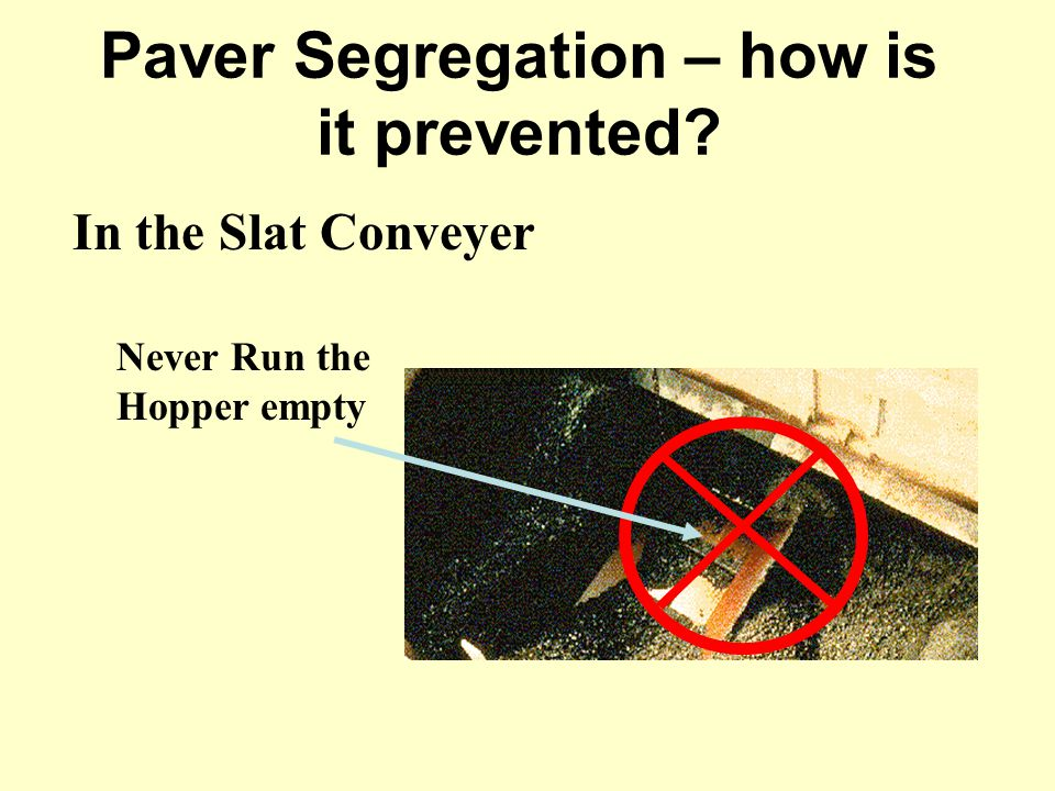 Paver Segregation – how is it prevented