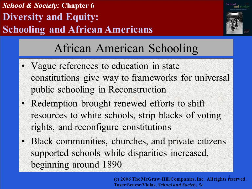 African American Schooling