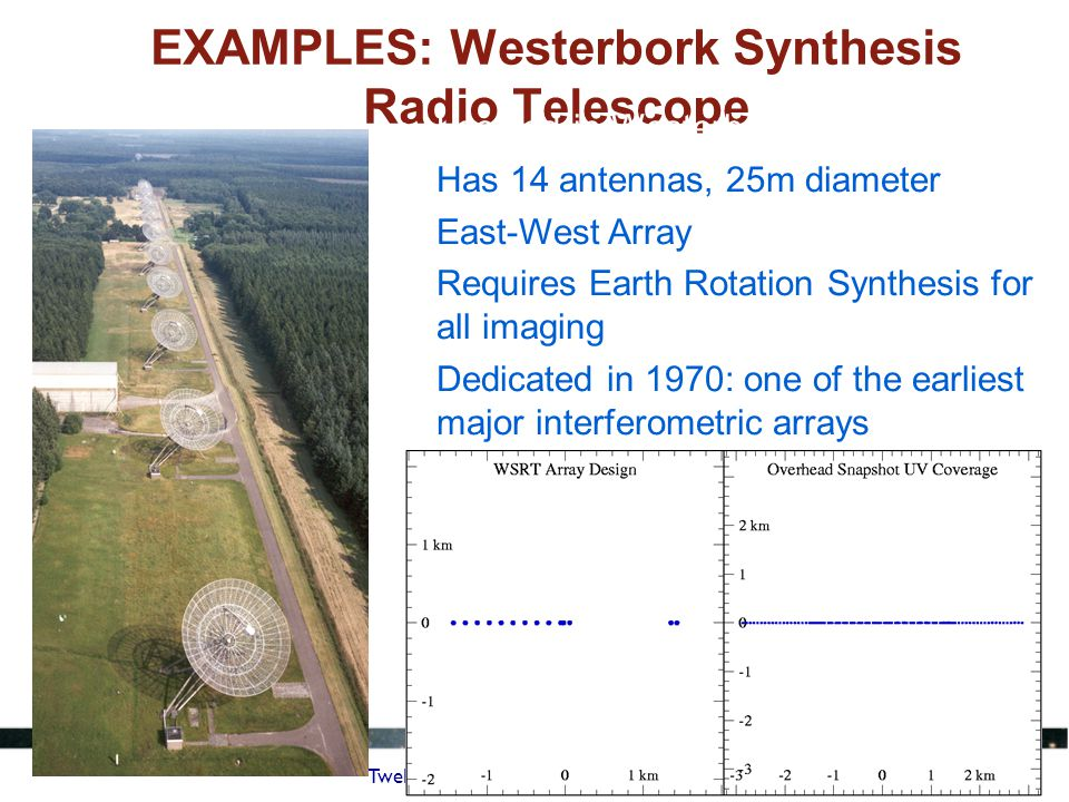 EXAMPLES: Westerbork Synthesis Radio Telescope