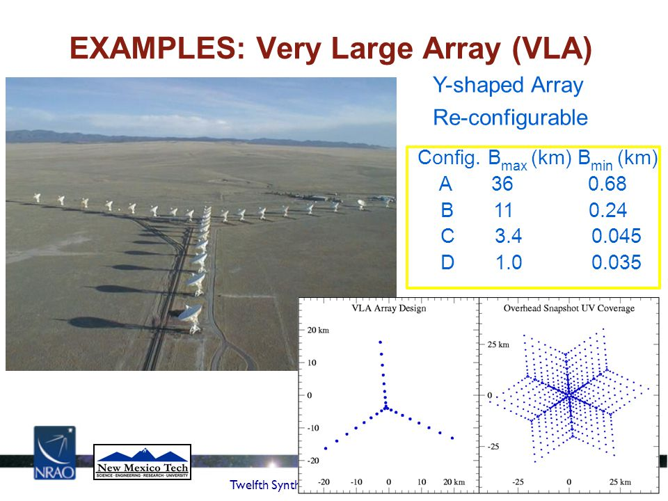 EXAMPLES: Very Large Array (VLA)‏