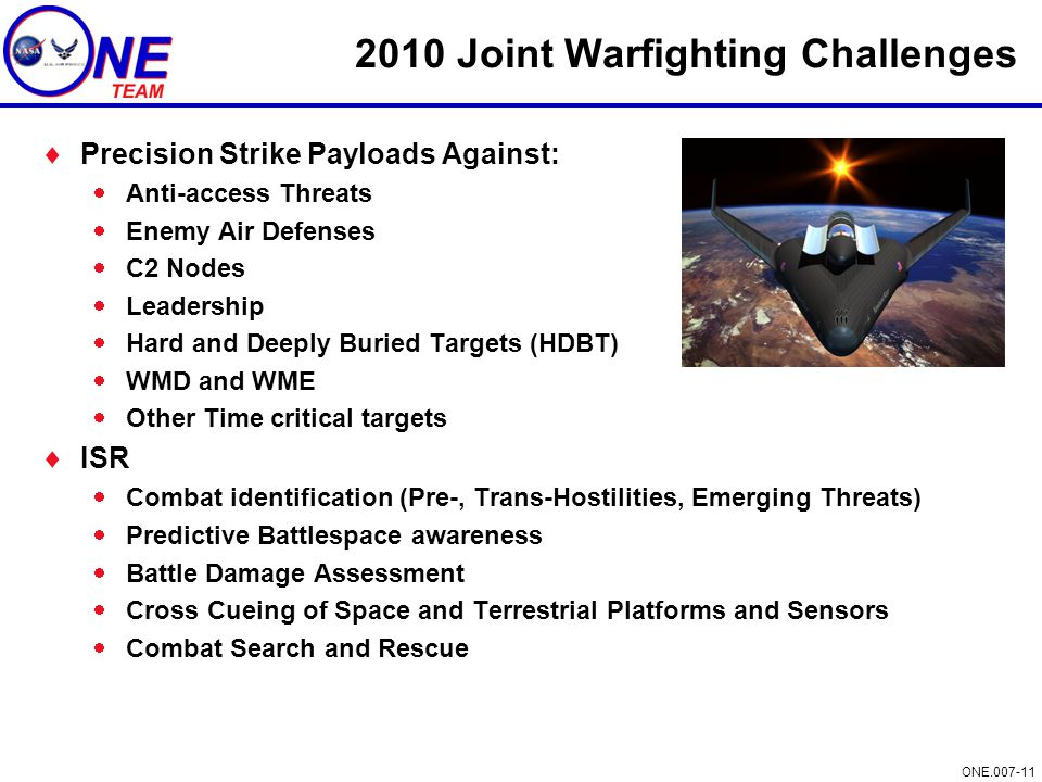 2010 Joint Warfighting Challenges