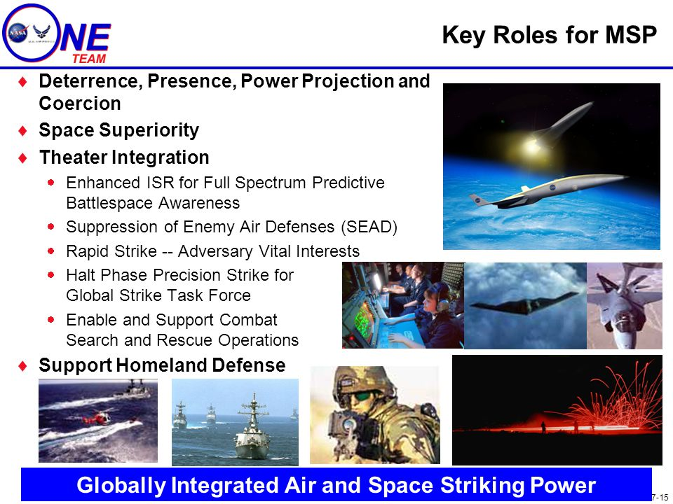 Globally Integrated Air and Space Striking Power