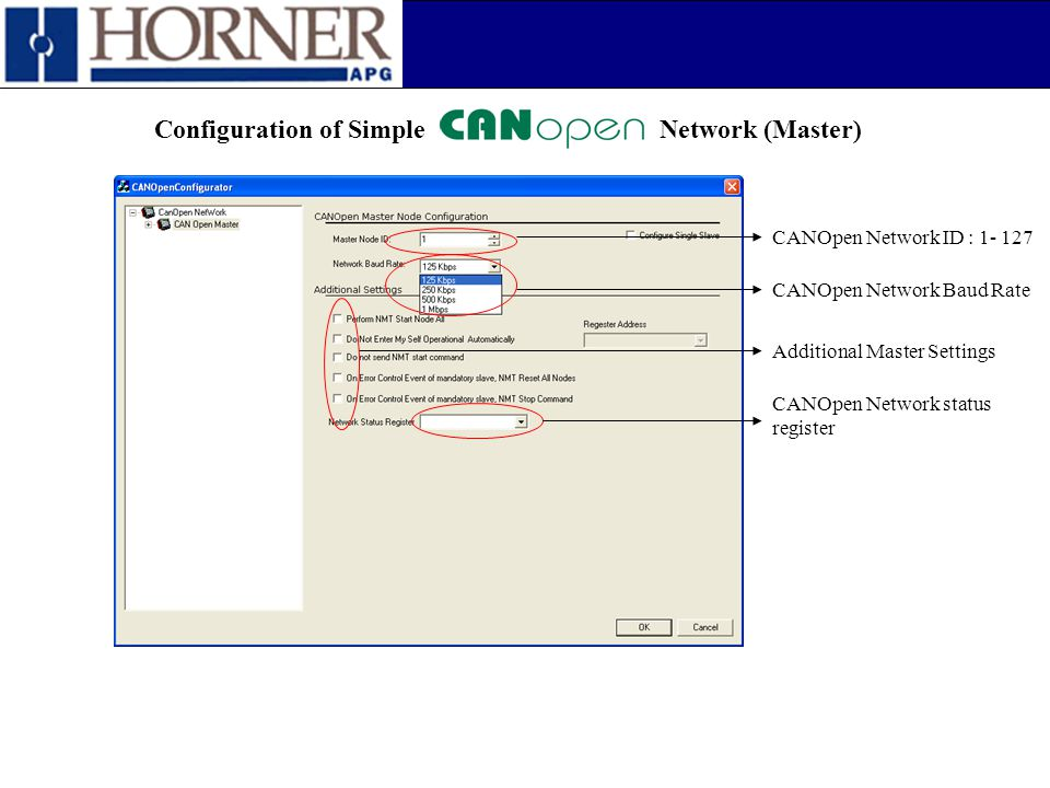 Configuration of Simple Network (Master)