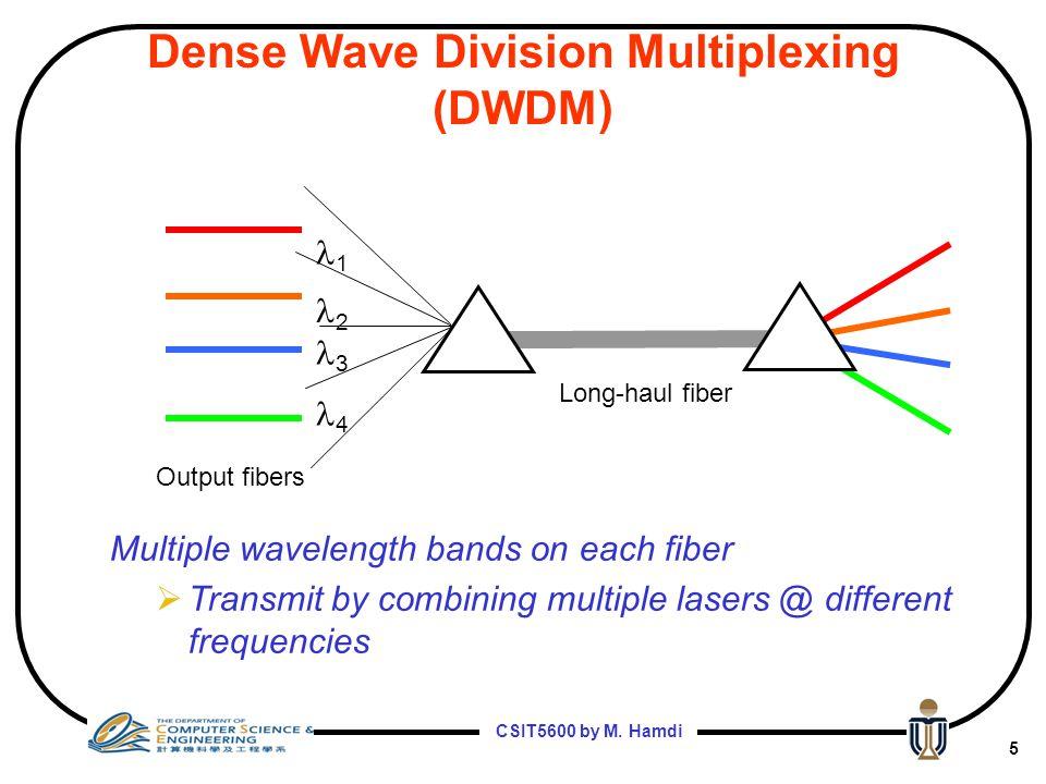 Dense Wave Division Multiplexing (DWDM)
