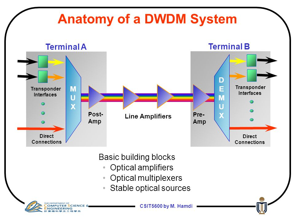 Anatomy of a DWDM System