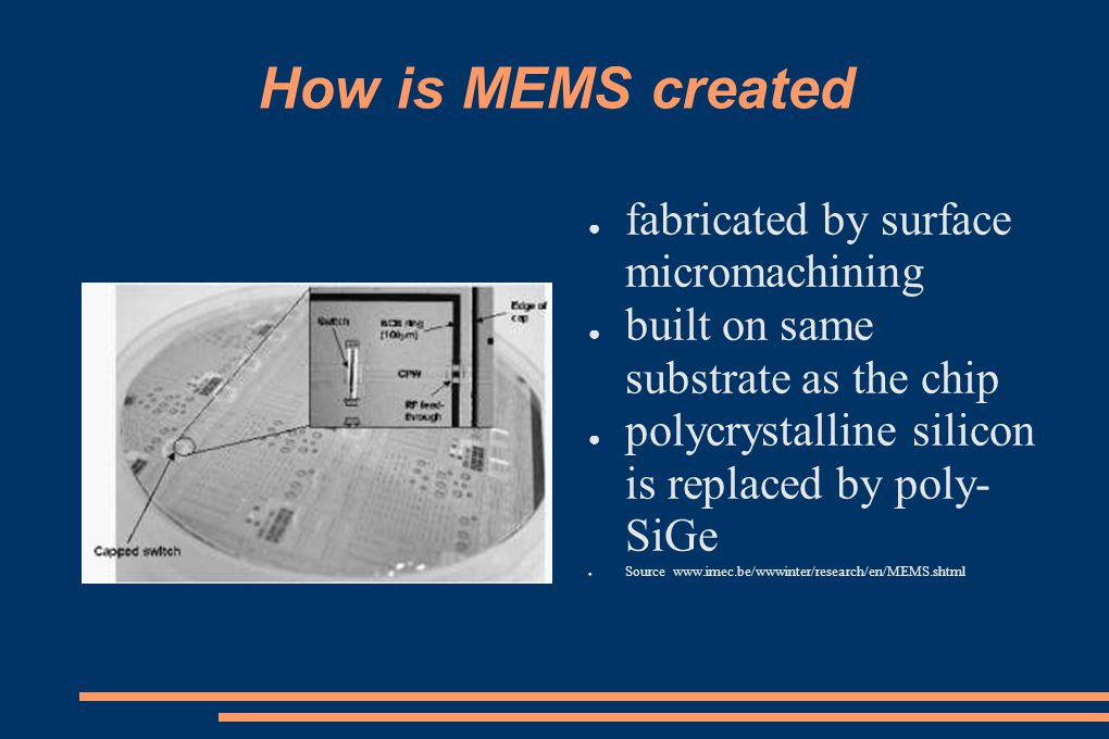 How is MEMS created fabricated by surface micromachining