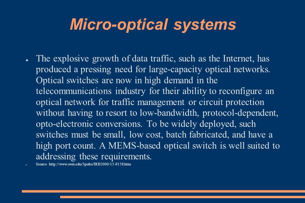 Micro-optical systems
