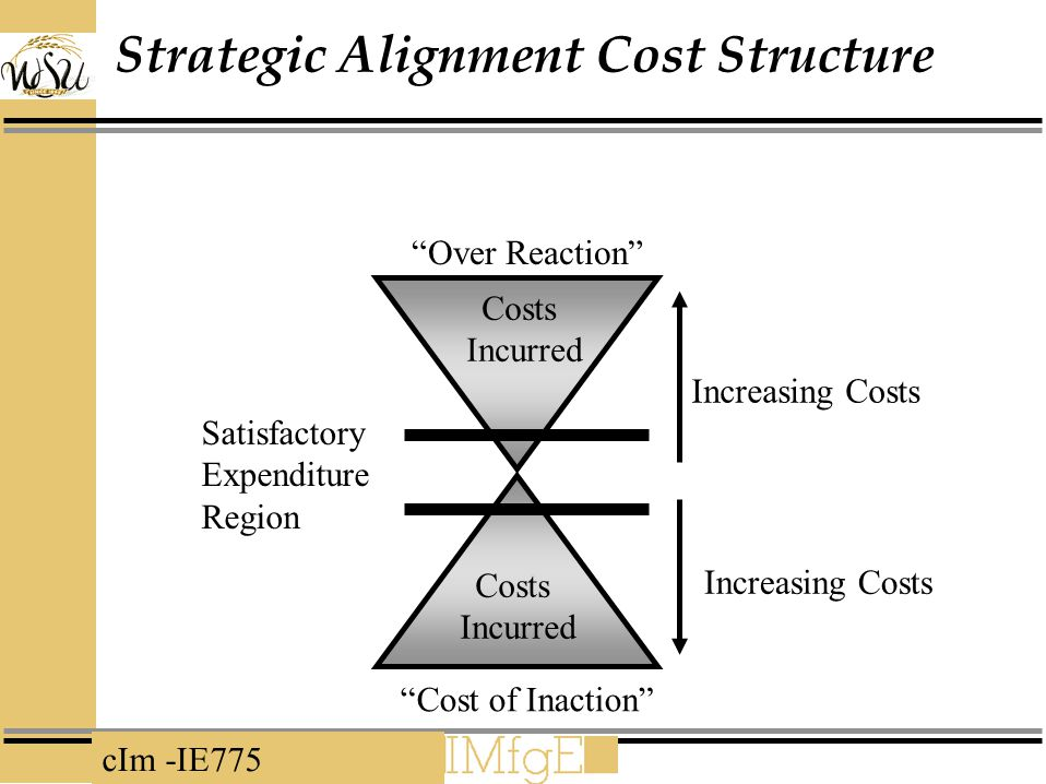 Strategic Alignment Cost Structure