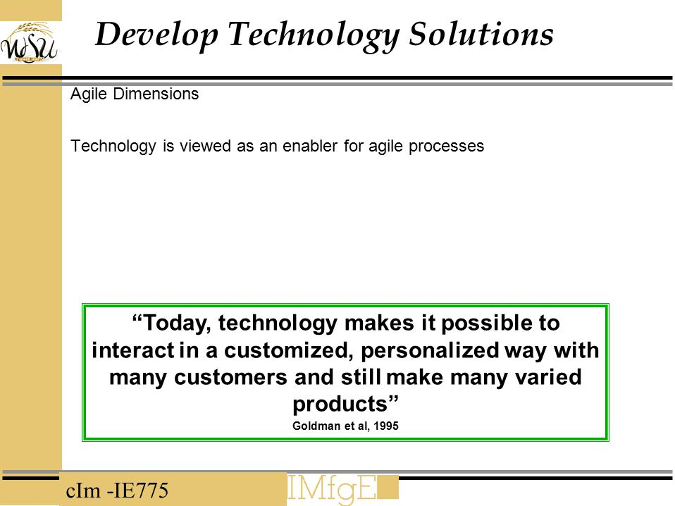 Develop Technology Solutions