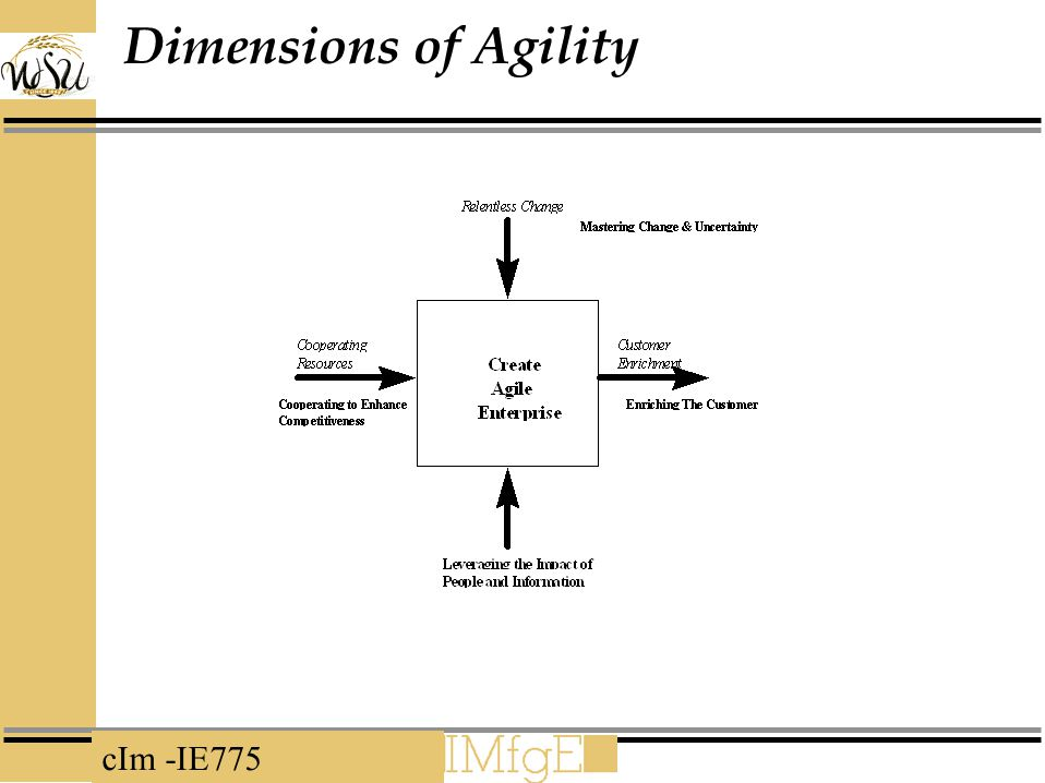 Dimensions of Agility