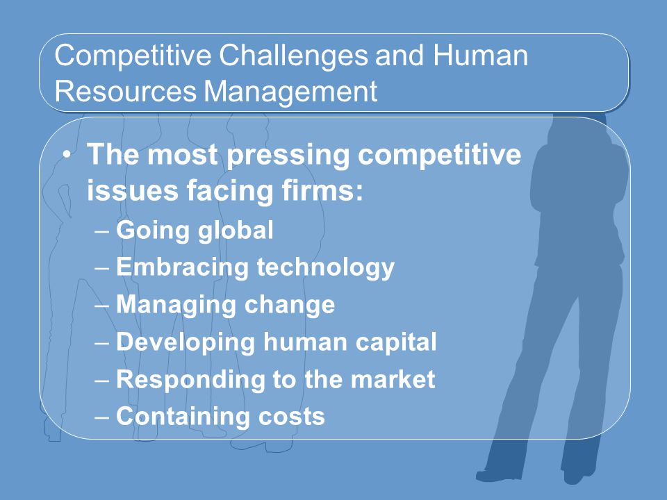 Competitive Challenges and Human Resources Management