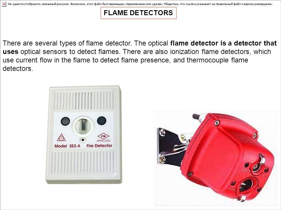 FLAME DETECTORS