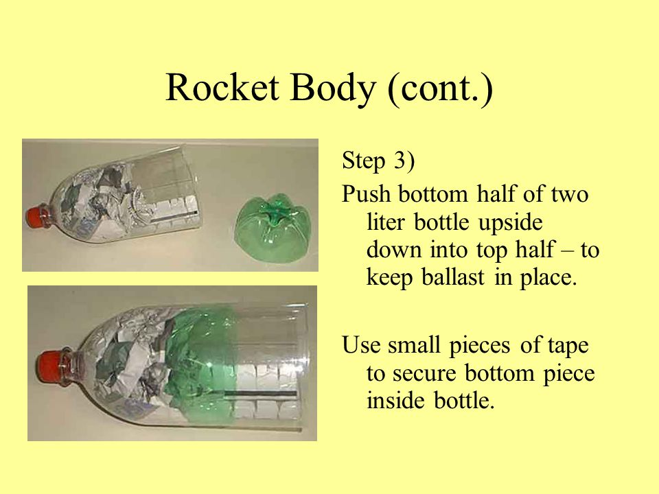 Rocket Body (cont.) Step 3)