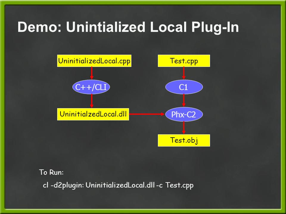 Demo: Unintialized Local Plug-In