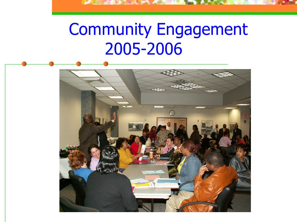 Community Engagement 2005-2006