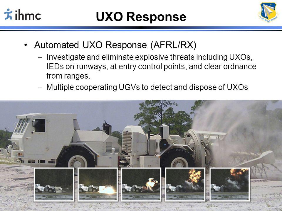 UXO Response Automated UXO Response (AFRL/RX) 1/12/12 D. Atkinson