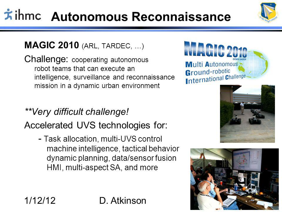 Autonomous Reconnaissance