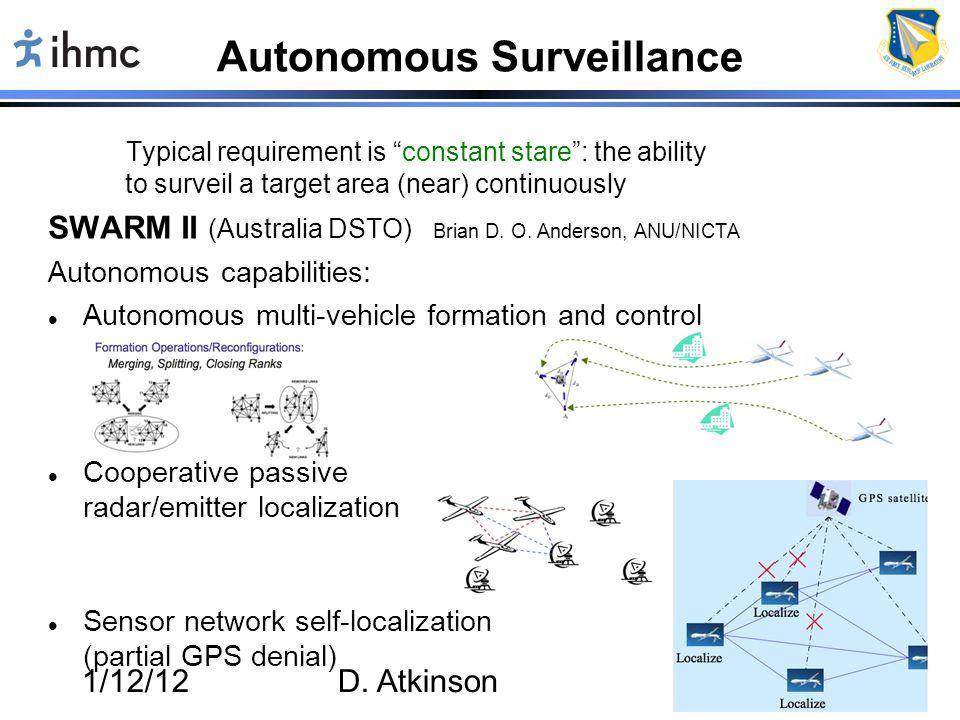 Autonomous Surveillance