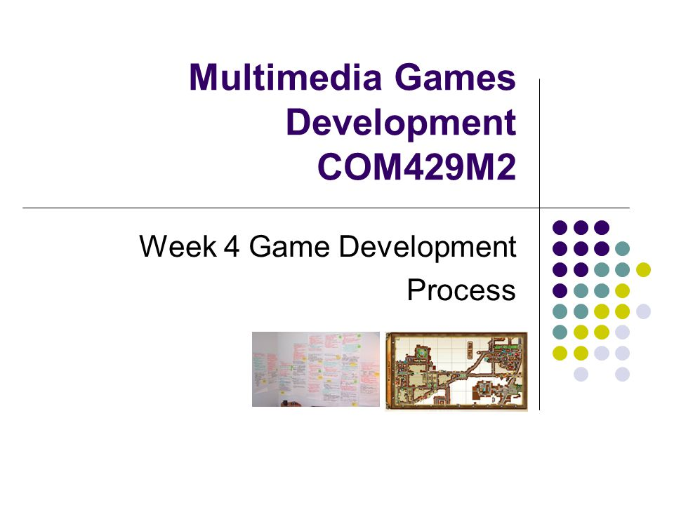 Multimedia Games Development COM429M2