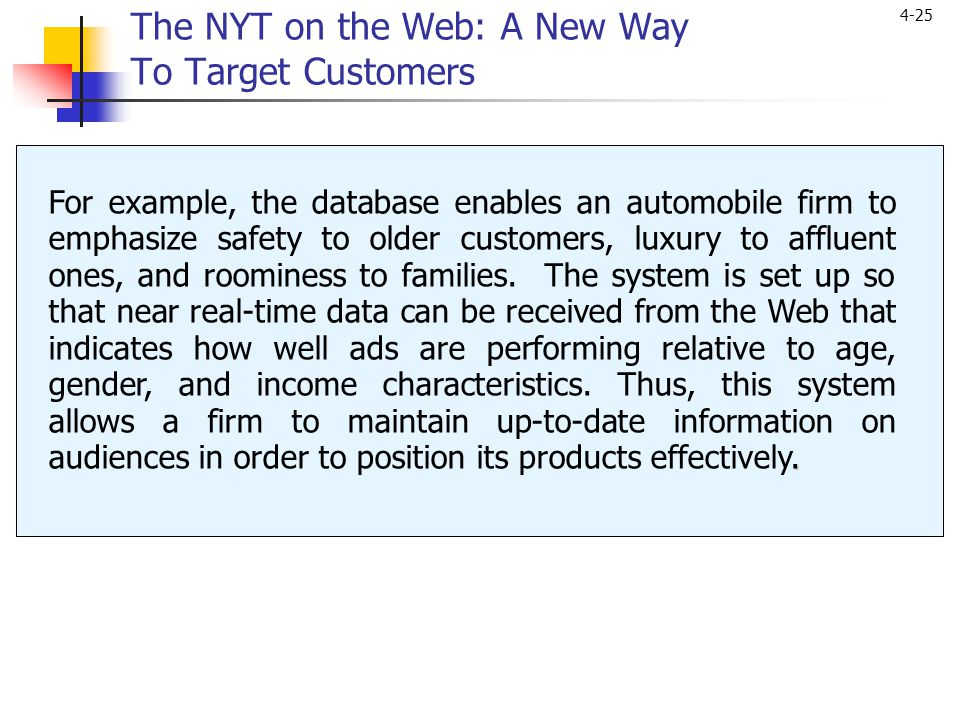 The NYT on the Web: A New Way To Target Customers
