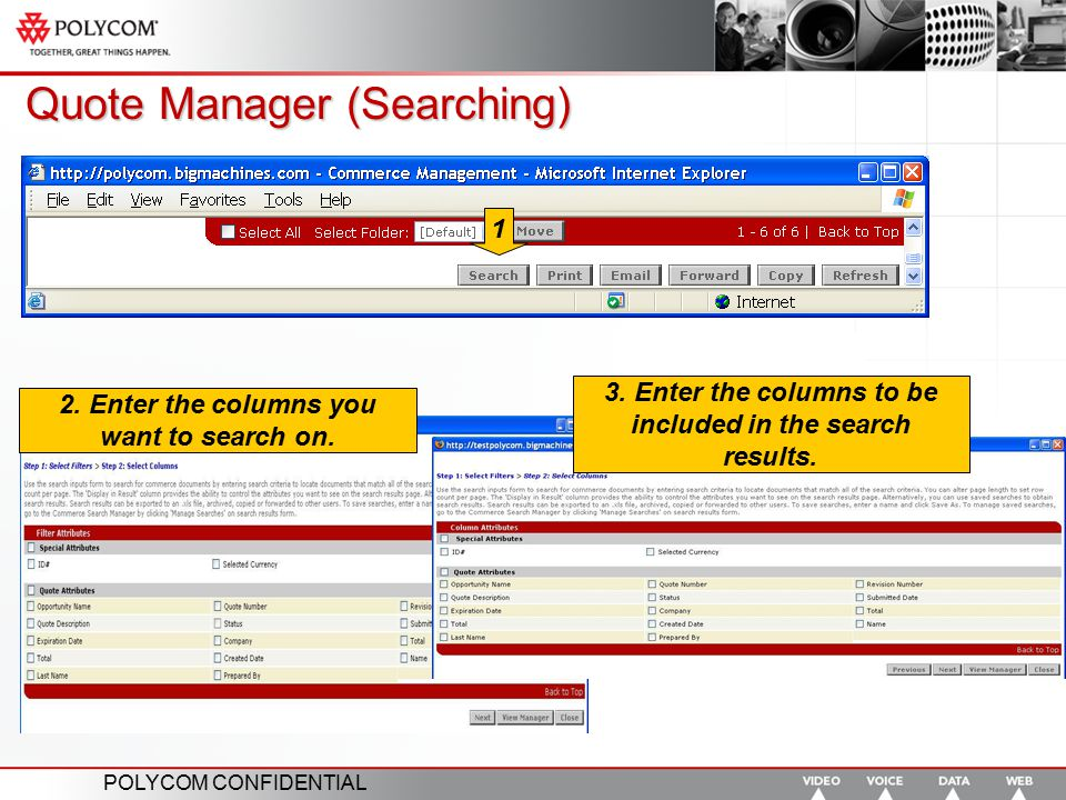 Quote Manager (Searching)