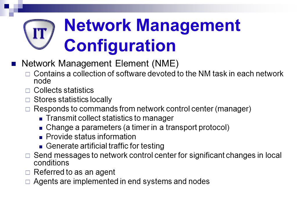 Network Management Configuration