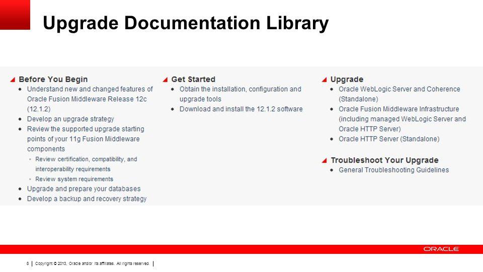 Upgrade Documentation Library